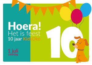 Feest! 10 jaar KidsOké.